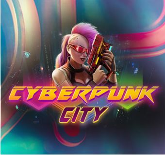Play Cyberpunk City slot game at Cafe Casino