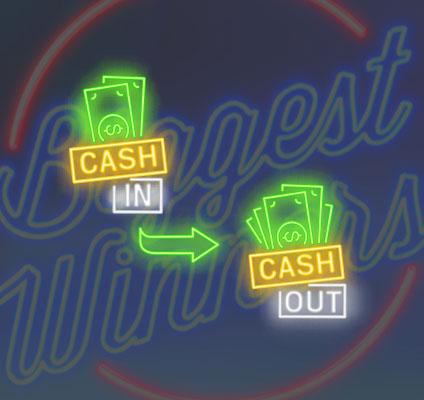 Casino Big Winners Cash-In then Cash-Out