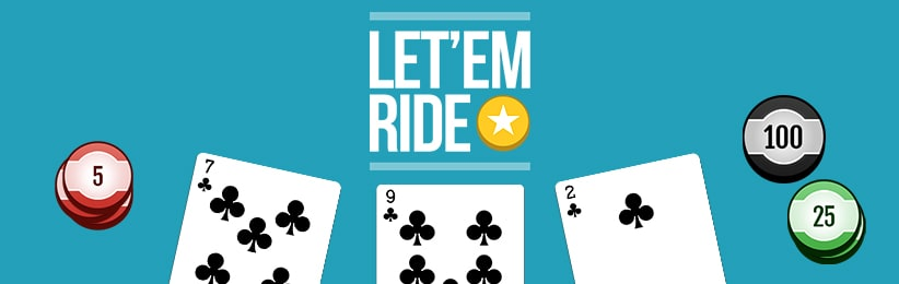 Play Let 'Em Ride and Other Casino Games at Cafe Casino