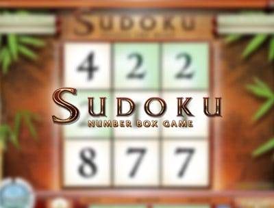Sudoku Box Game