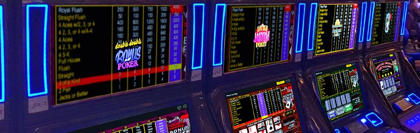 Top Three Reasons To Play Video Poker Online - Cafe Casino