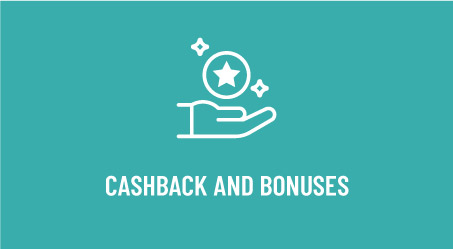 Cashback and Bonuses