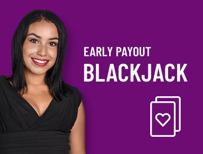 Live Dealer Blackjack Early Payout